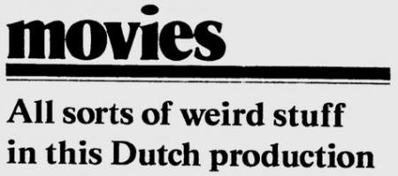 Uit de Milwaukee Journal van 7 december 1984