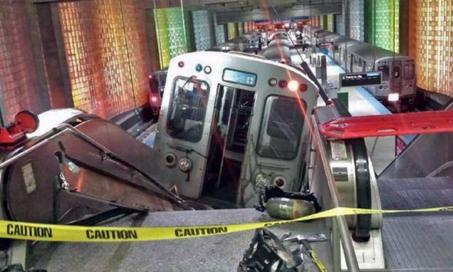 Ontspoorde metro