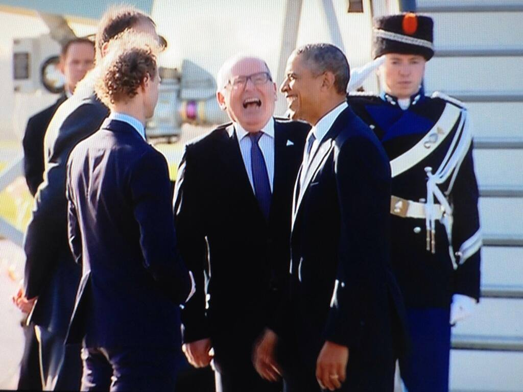 Obama en timmermans