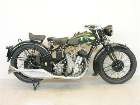 600cc Matchless, 1933