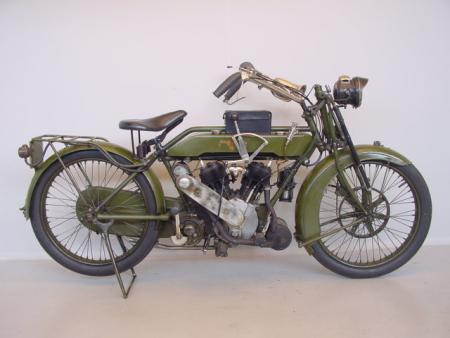 War Matchless, 1918