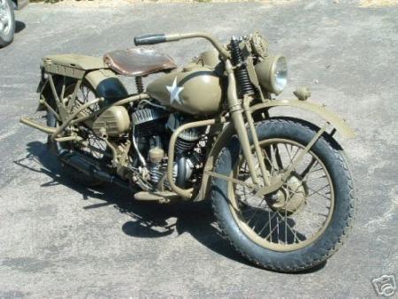 Harley Davidson uit de oorlog