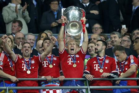 Bayern München won voor de vijfde keer de cup met de grote oren (Foto: PRO SHOTS/Stanley Gontha)