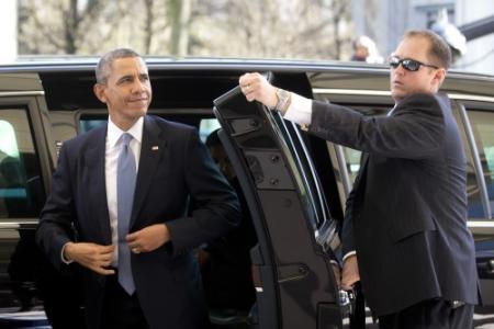 'Beveiligers Obama aan de drank in Amsterdam'