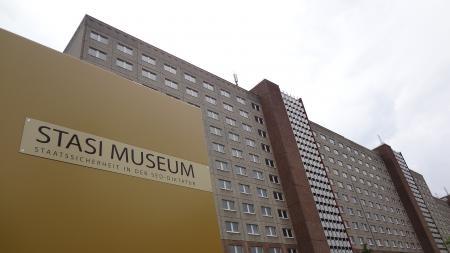 Hoofdkwartier van de Oost-Duitse geheime dienst, de Stasi