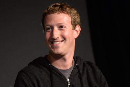 Zuckerberg'verdient 1 dollar per jaar'