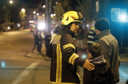 Doden en gewonden door zware beving Chili