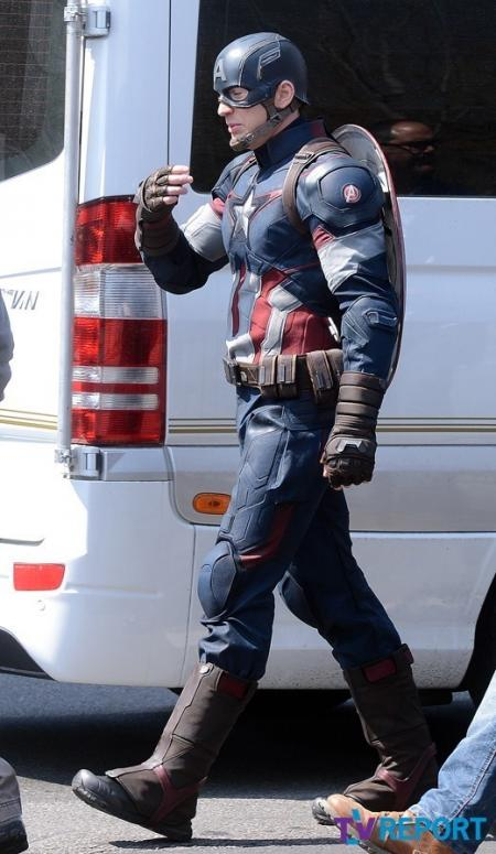 Avengers: Age of Ultron: Captain America's nieuwe outfit