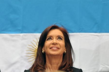 Argentijnse president peettante kind homostel
