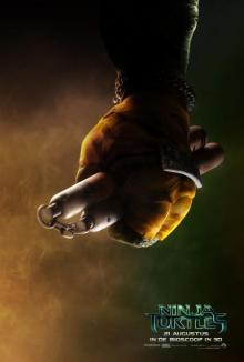 Ninja Turtles charachter poster: Michelangelo