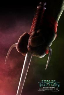 Ninja Turtles charachter poster: Raphael