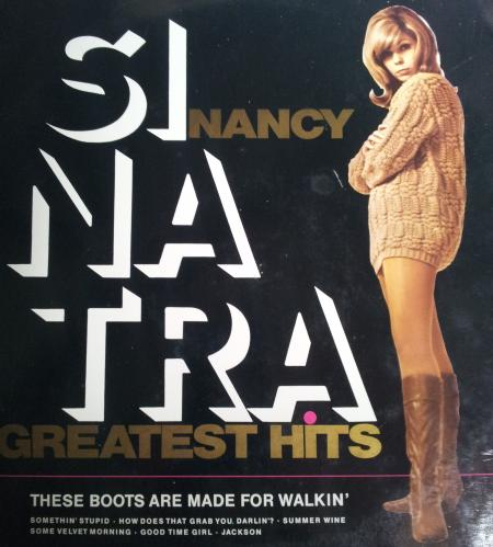 Best of van Nancy Sinatra. Eigen foto.