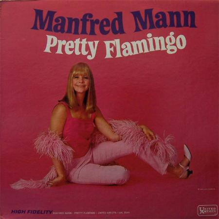 De elpee Pretty Flamingo van Manfred Mann