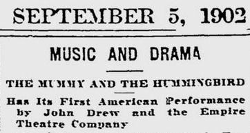 Uit de Boston Evening Transcript van 5 september 1902