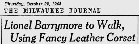 Uit de Milwaukee Journal van 28 oktober 1948
