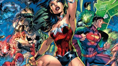 Justice League: Batman, Wonder Woman, Superman