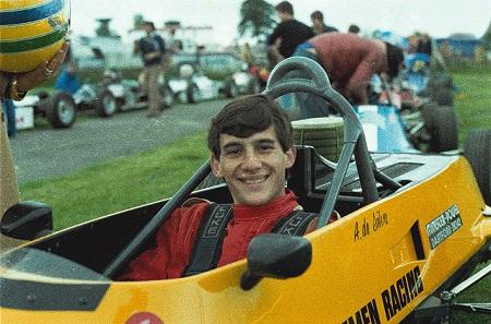 In 1981 reed Senna voor het team van Van Diemen in de Formule Ford (WikiCommons/Instituto Ayrton Senna)