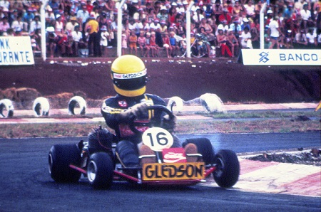 Ayrton Senna begon zijn raceloopbaan op de kart (WikiCommons/Instituto Ayrton Senna)