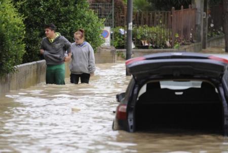 Doden na hevig noodweer in Italië
