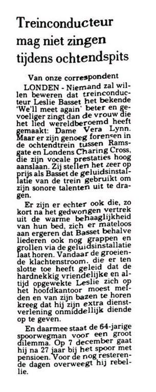 Uit de Leeuwarder Courant van 24 november 1989