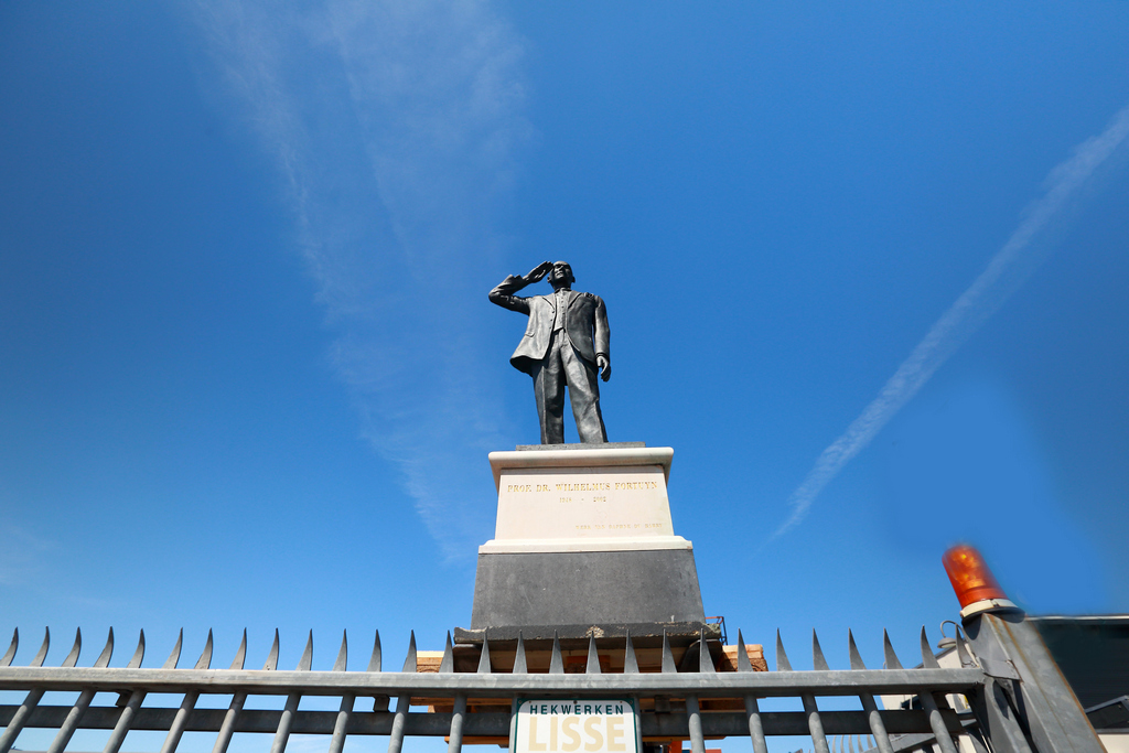 Standbeeld Pim Fortuyn