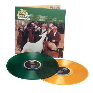The Beach Boys op gekleurd vinyl