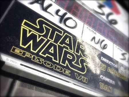 Star Wars clapboard