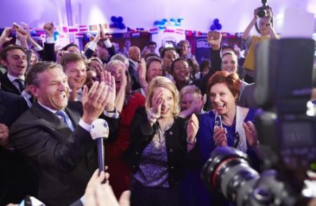 Verkiezingsuitslag matig bekeken op tv