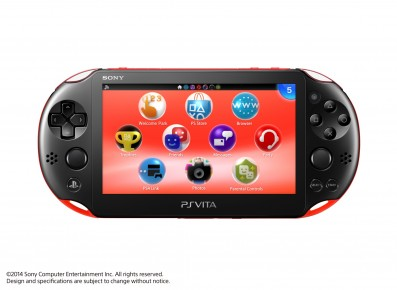 PS Vita Rood