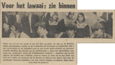 Uit de Friese Koerier van 6 juni 1964