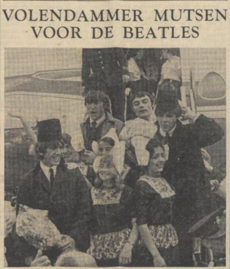 Uit het Nieuwsblad van het Noorden van 6 juni 1964