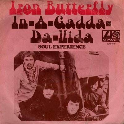 De Nederlandse single van In-A-Gadda-Da-Vida