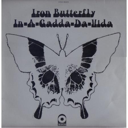 De Franse elpee van Iron Butterfly