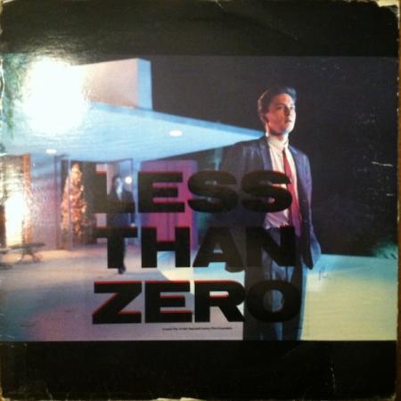 De soundtrack van Less Than Zero