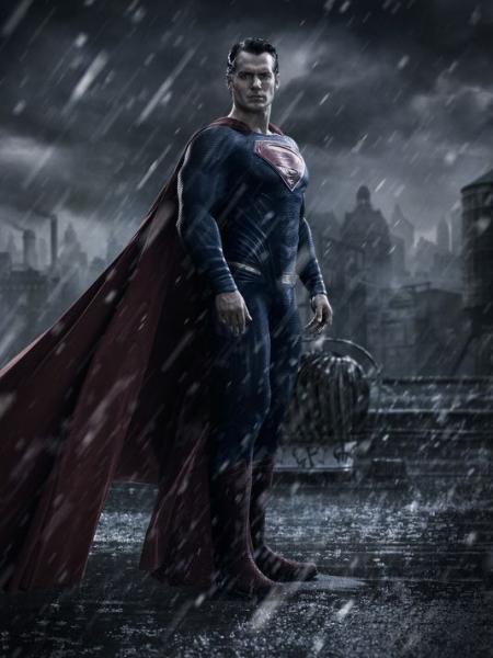 Henry Cavill als Superman in Batman v Superman: Dawn of Justice