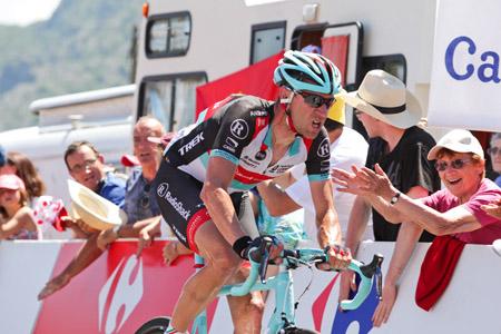Erkend hardrijder Jens Voigt tijdens de Tour van 2013. Zoals Herbert ons jaar na jaar verteld is hij vader van zes kinderen (PRO SHOTS/George Deswijzen)