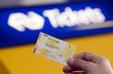 Allerlaatste papieren treinkaartje: 250 euro