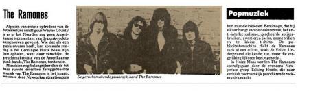 Uit het Nieuwsblad van het Noorden van 6 mei 1977