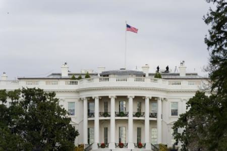 Witte Huis hermetisch afgesloten