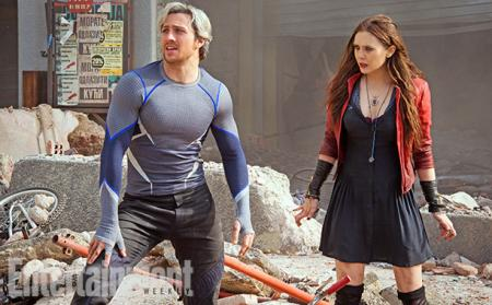 Avengers: Age of Ultron: Quicksilver en Scarlet Witch