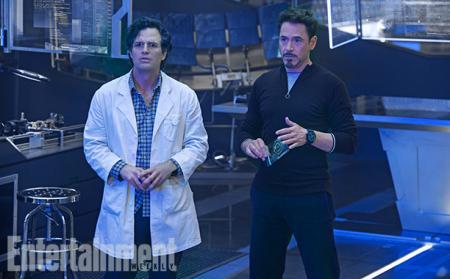Avengers: Age of Ultron: Bruce Banner en Tony Stark