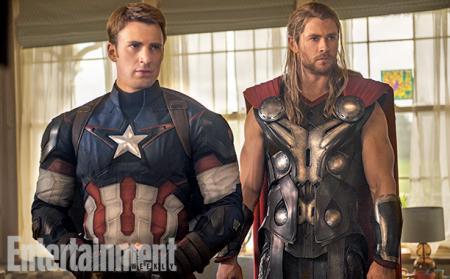 Avengers: Age of Ultron: Captain America en Thor