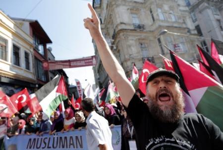 Rellen bij Israëlisch consulaat in Istanbul