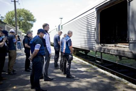 'Hoofd forensisch team prijst Oekraïners'