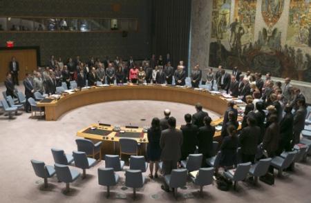 Veiligheidsraad veroordeelt neerhalen toestel