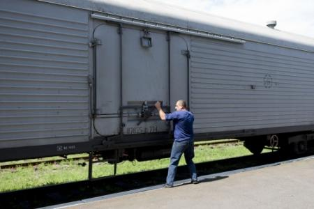 'Lichamen slachtoffers gaan naar Charkov'