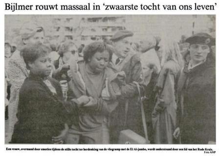 Uit de Leeuwarder Courant van 12 oktober 1992