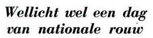 Uit de Leeuwarder Courant van 29 november 1962