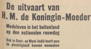 Uit het Nieuwsblad van het Noorden van 28 maart 1934