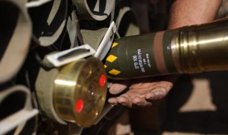 Projectielen afgevuurd uit Gazastrook